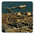 Onshore LNG plant, North West Shelf Venture